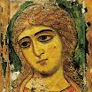 Ангел Златые власы. XII в. Находится в Русском музее.jpg